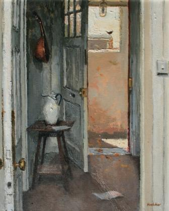 Charles HARDAKER - Open Doors with Bird, Autumn