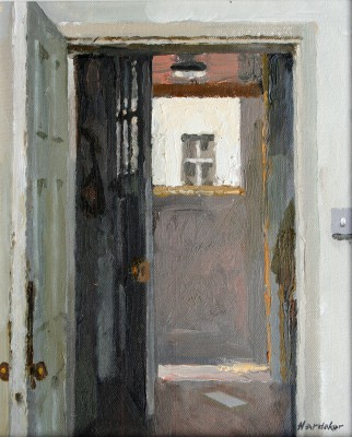 British Artist Charles HARDAKER - Open Doors - Stillness