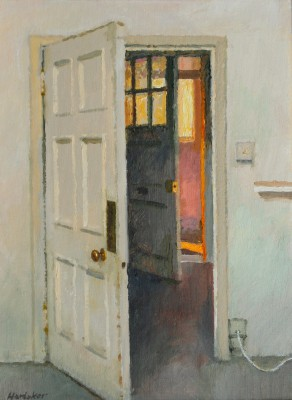 British Artist Charles HARDAKER - Two Open Doors