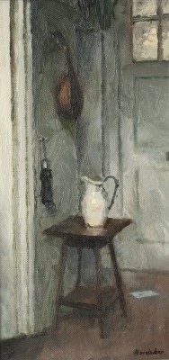 British Artist Charles HARDAKER - Still Life with White Jug