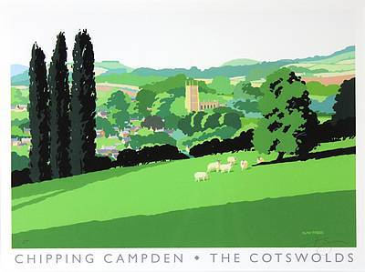 Limited Edition Prints Artist Alan Tyers - Chipping Campden