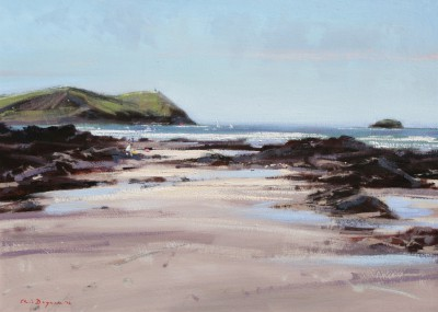 British Artist Chris DAYNES - Stepper Point, near Padstow