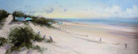 British Artist Chris DAYNES - August Beach