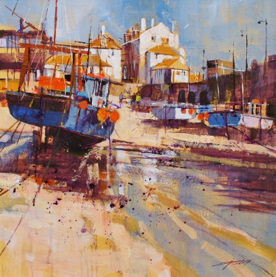 British Artist Chris FORSEY - Reflection and Shadow, St Ives