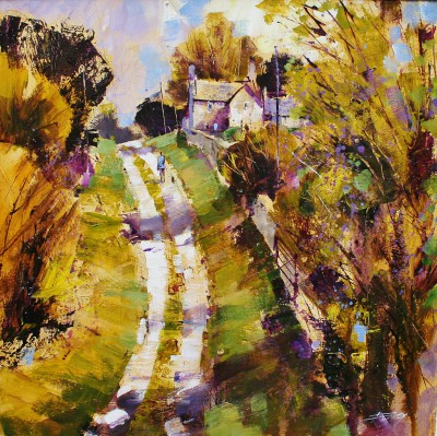 British Artist Chris FORSEY - April Stroll