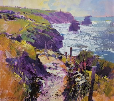 Chris FORSEY - Path along the Cliff, North Cornwall