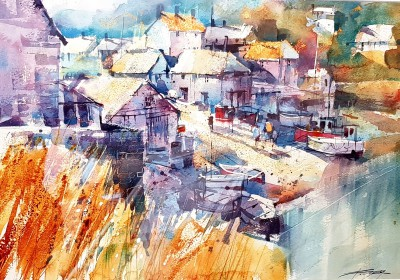 Chris FORSEY - October Shadows, Cadgwith