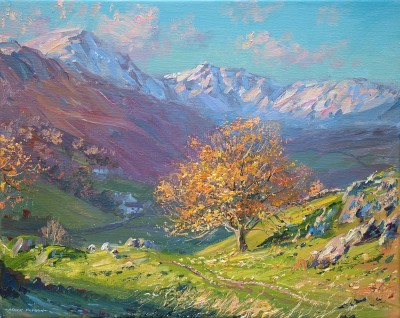 Mark PRESTON - Clear November Day, Little Langdale