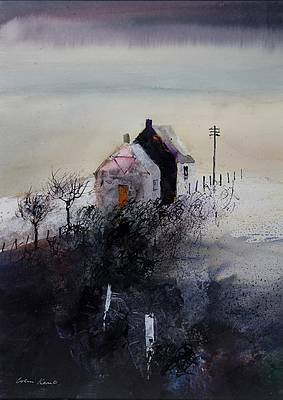 Colin KENT - Evening Cottages