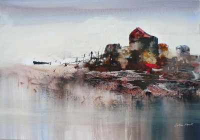British Artist Colin KENT - Thameside