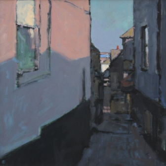 Colin ORCHARD - Evening Sun, Bailey's Lane, St Ives