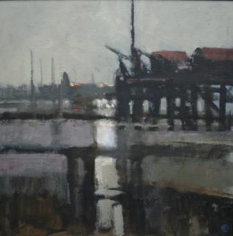 Colin ORCHARD - The Jetty, Shotley Gate