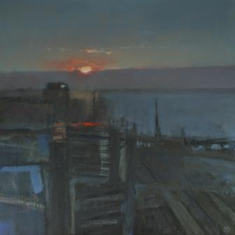 Colin ORCHARD - Sunrise, River Blyth