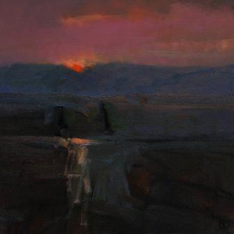 Colin ORCHARD - Dartmoor Sunset