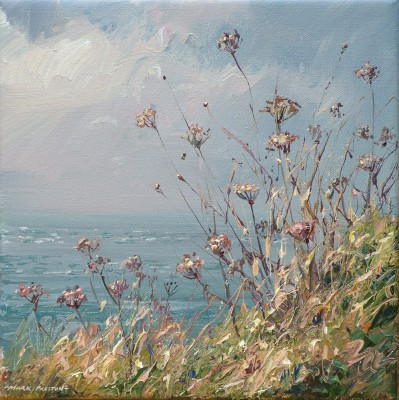 British Artist Mark PRESTON - Cornish Seedheads