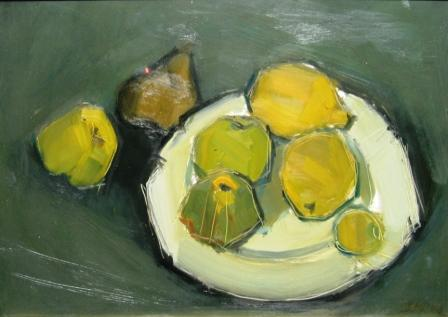 British Artist Dawn SIDOLI - The Golden Pear