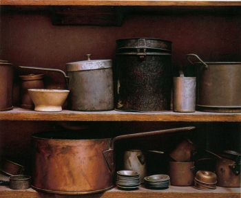 British Artist Darren BAKER - Pots and Pans