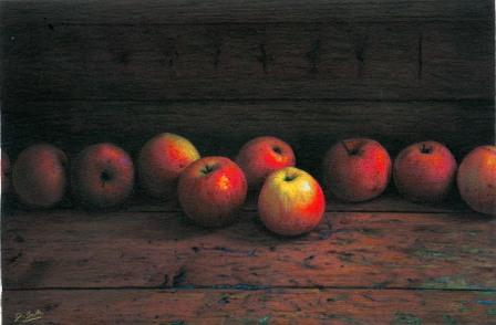 British Artist Darren BAKER - Apples