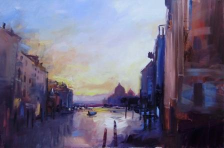 David ATKINS - Sunrise on the Grand Canal