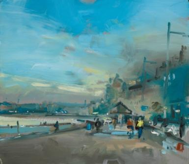 David ATKINS - Walking Beside the Sea at Weymouth