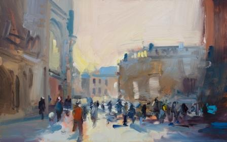 David ATKINS - Early Morning Light, Bath