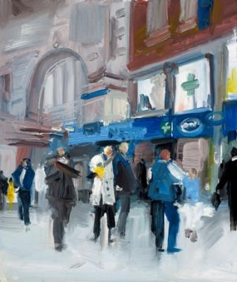 David ATKINS - Travelling on, Waterloo Station