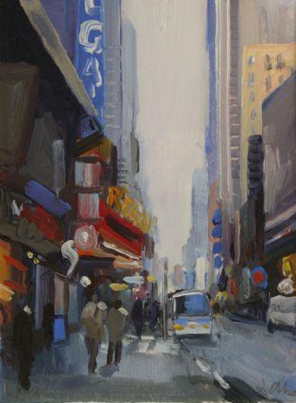 David ATKINS - On 42nd Street. NYC