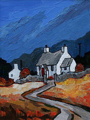 David BARNES - Autumn near Waenfawr