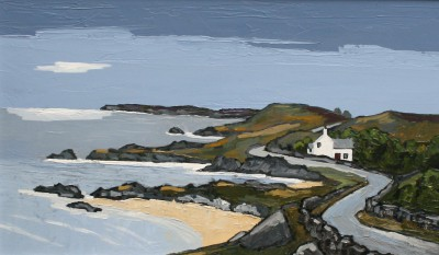 Near Bull Bay painting by artist David BARNES