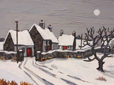 David BARNES - Moonlight near Rhuddlan