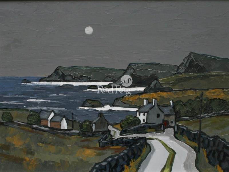 David BARNES - Moonlight over the Llyn