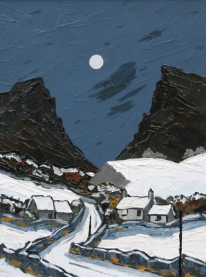 David BARNES - Moon over the Pass