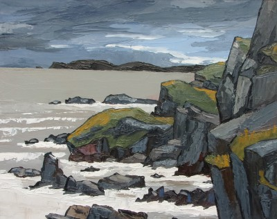 David BARNES - Distant South Stack