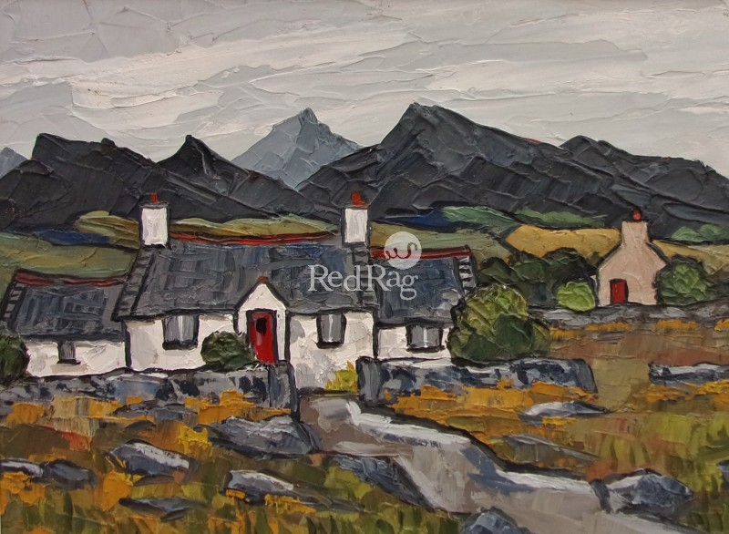 David BARNES - Distant Siabod