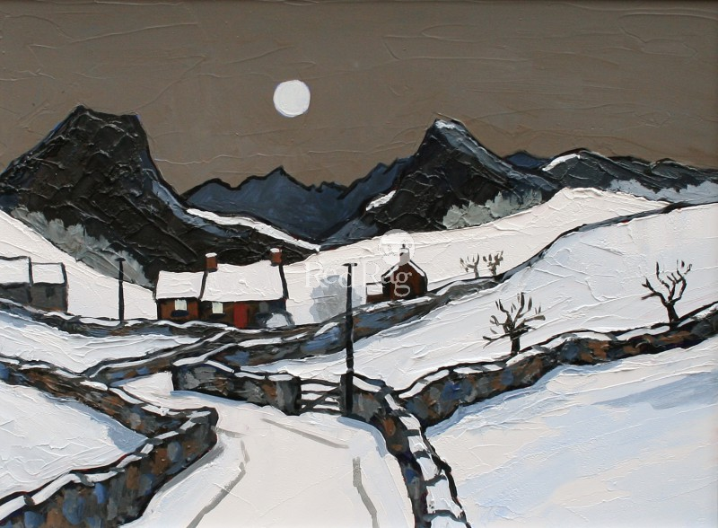 David BARNES - Snow in Denbighshire