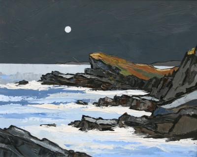 David BARNES - Rocks near Aberffraw