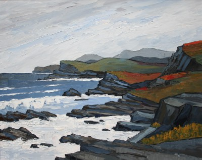 British Artist David BARNES - North of Sandwood Bay