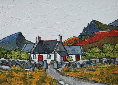 David BARNES - Cottage in the Berwyns