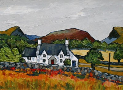 David BARNES - Cottage in the Moelwyns