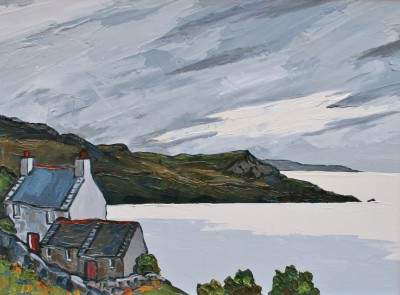 David BARNES - Cottages on the Lleyn