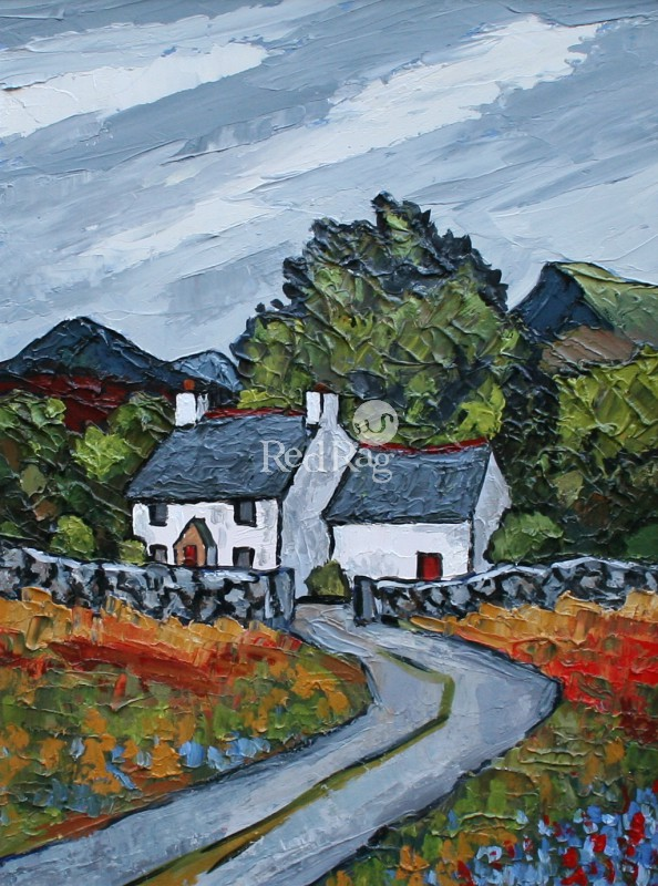 David BARNES - Cottage above Bettws