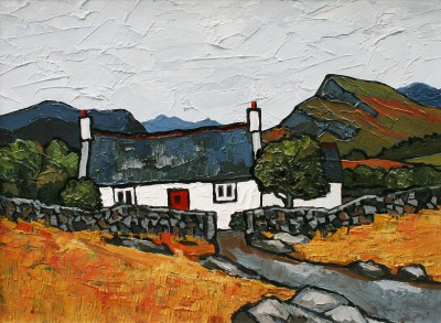 David BARNES - Cottage near Cowlyd