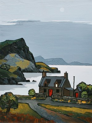 David BARNES - Ardmair Bay at Eventide