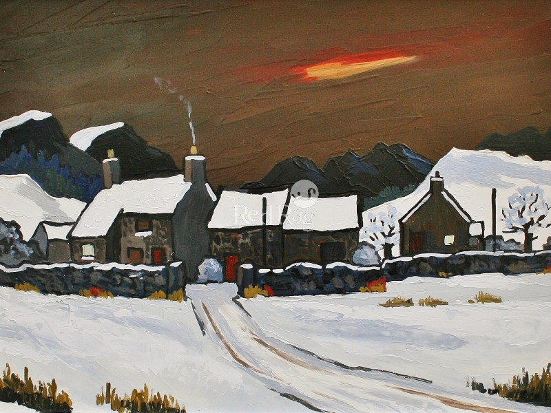 David BARNES - Winter Evening