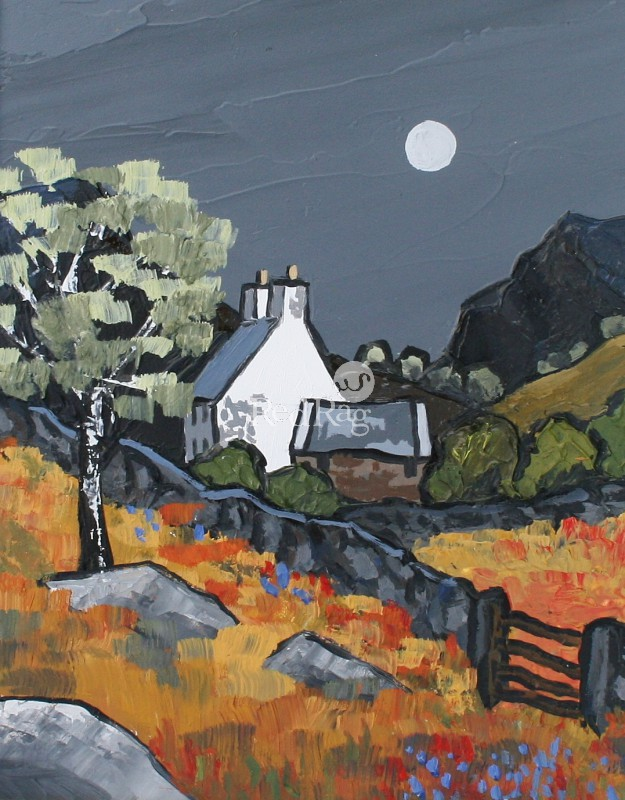 David BARNES - Snowdonian Cottage