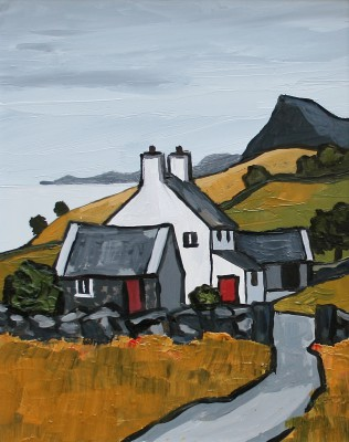 British Artist David BARNES - North Coast of the Lleyn