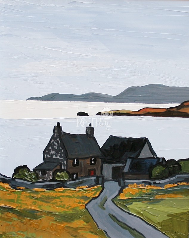 David BARNES - Eventide in Cardigan Bay