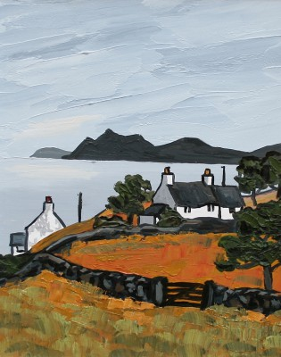 British Artist David BARNES - The North Coast Lleyn