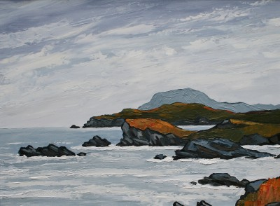 British Artist David BARNES - The West Coast of Anglesey