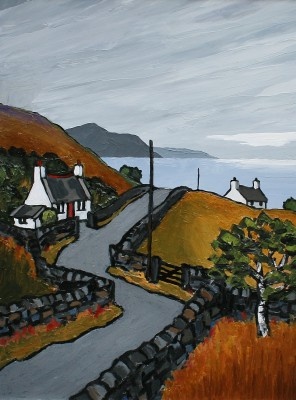 British Artist David BARNES - Cardigan Bay